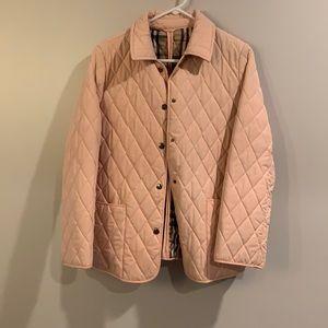 NWOT lnsplr3d Burberry Pink Quilted Coat (M)